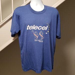 Telecel Bolivian Phone Company Vintage T-Shirt